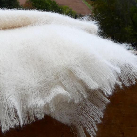 Couverture en Mohair   Taille XL