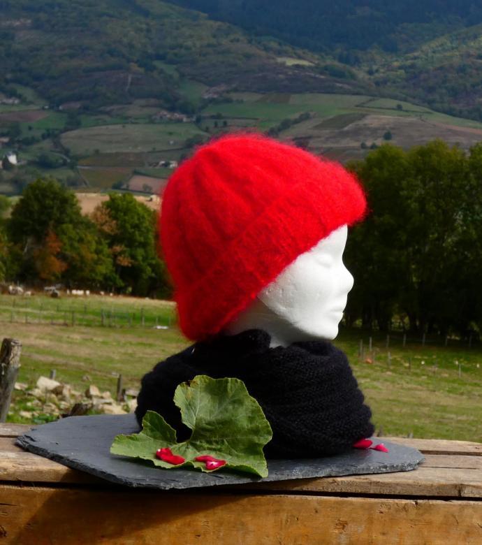 Bonnet Mohair Volupté